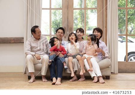 ปู่ ตา,ย่า ยาย,คนญี่ปุ่น 41673253