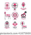 logo, comedy, club 41675600