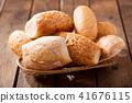 Fresh baked bread 41676115