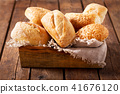 Fresh baked bread 41676120