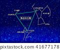สามเหลี่ยมใหญ่ในฤดูหนาว 41677178