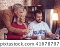 volunteer, interaction, social 41678797