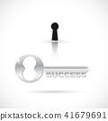 Key to Success Illustration 41679691