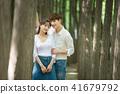 연인,커플,데이트, 젊은남자, 젊은여자 41679792