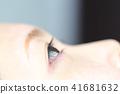 睫毛睫毛圖像,保持睫毛擴展 41681632