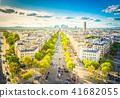 skyline of Paris, France 41682055