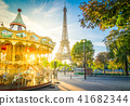 eiffel tour and from Trocadero, Paris 41682344