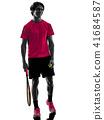 网球 抠图 白底 41684587