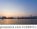 evening, scene, City 41688431
