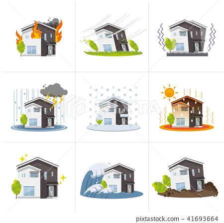 집, 하우스 : 재해 세트 41693664