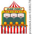 Slam dunk carnival stall 41696178