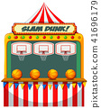Slam dunk carnival stall 41696179