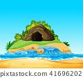 cave, mystery, vector 41696202