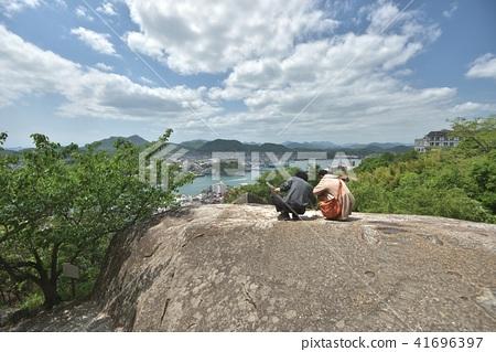 Scenery of Onomichi Ponpon Rock of Senkoji Park 41696397