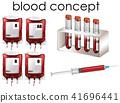เลือด,แนวคิด,เวกเตอร์ 41696441