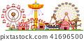 A Panorama of Fun Fair 41696500