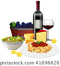 A Set of Italian Cuisine 41696626