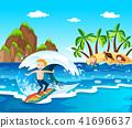 Summer Beach Island and c 41696637
