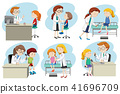 A Set of Doctor Medical Care 41696709