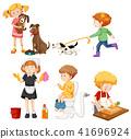 A Set of Housework Activities 41696924