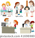 A Set of Children Check Up 41696980