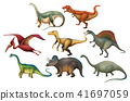 A Set of Diffrent Dinosaurs 41697059