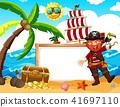 beach banner pirate 41697110