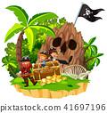 island pirate children 41697196