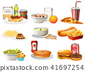 A Set of American Food 41697254