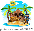 island pirate girl 41697371