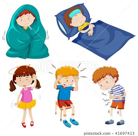 A Set of Sick Kids 41697413