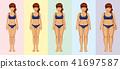 body transformation woman 41697587