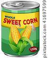 A Can of Whole Sweet Corn 41697599