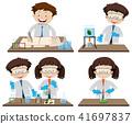 Scientist Experiment Leaf Color Chromatography 41697837