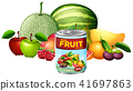 A Can of Mixed Fruit and Fresh Fruit 41697863