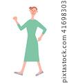여성, 여자, 시니어 41698303