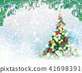 Vector  Christmas greeting card. 41698391