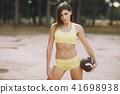 beautiful sporty girl 41698938