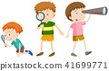 A Set of Children Researching 41699771