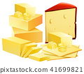 cheese background set 41699821