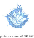 3d render of liquid splash 41700962