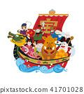 矢量 藏寶船 船隻 41701028