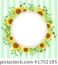 sunflower sunflowers frame 41702165