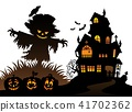 Halloween, scarecrow, scare 41702362