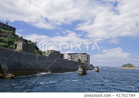 선착장에서 볼 군함 섬 41702784