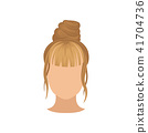 hair woman wavy 41704736