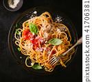 italian, pasta, tomato 41706381