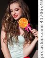 lollipop, candy, female 41706549