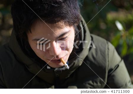 남자 일본인 흡연자 41711300