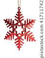 Snowflake christmas decoration 41711742